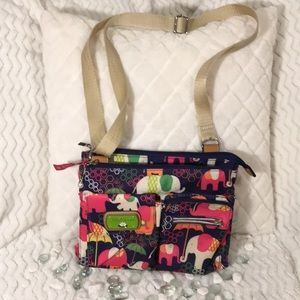 "NWOT Lily Bloom ""Elephant Rain"" Regina Crossbody"